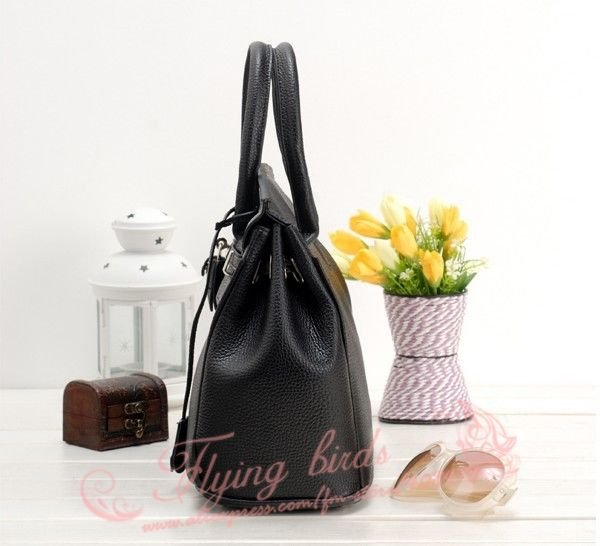 2012 Hot Sale Fashion Handbag Women High Quality Shoulder Ladies Bag Elegant Messenger Bag PU Leather Bag Women HE002