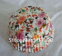 1000 красочные цветочные кекс лайнеры булочки чашки чашки выпечки