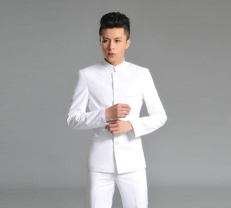 Aliexpress.com : Buy (Brazer Pants) Men&39s tunic collar suits