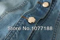 дикий тонкий рукавом джинсовая куртка снаружи с трикотажные рукава джинсовая куртка женская короткая джинсовая куртка бесплатная доставка lc064