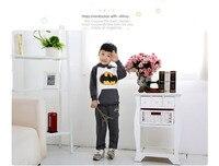 новый 100% хлопок мод зимняя одежда Batman с caption для мальчиков и девочек детская одежда детская верхняя одежда прошел полный одежды большие размеры
