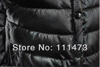 бесплатная доставка, зима мода женская куртка с Корк ПУ верхняя одежда - хлопка-VAT пальто