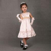 новое поступление по уходу за детьми лето розовый цветочные рукавов принцесса платье для девочки высокое качество 85 см - 145 см
