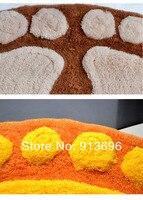 бесплатная доставка! большой размер fashiong мягкий хлопок коврик для ванной ковер комплект для ванной комнаты
