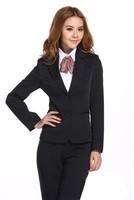 новый хиты продавать женские деловые костюмы комплект большой размер плюс / бл 02