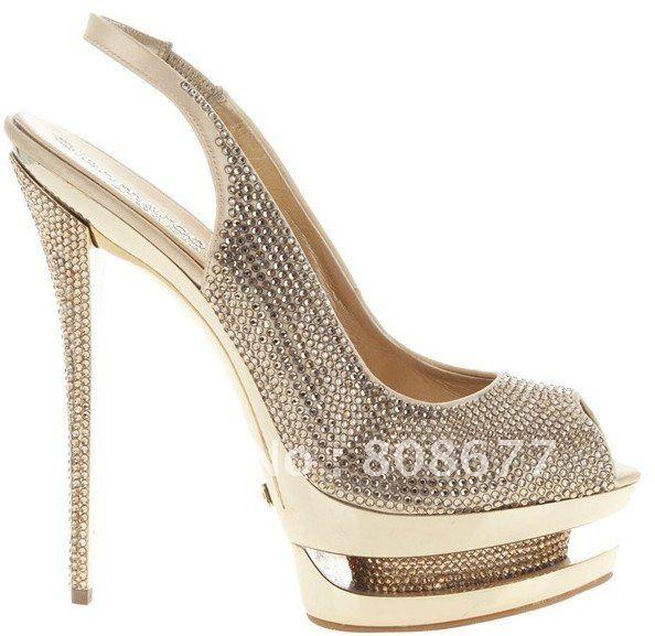 Wholesale Elegant Comfortable Sexy Double Platform High Heels ...