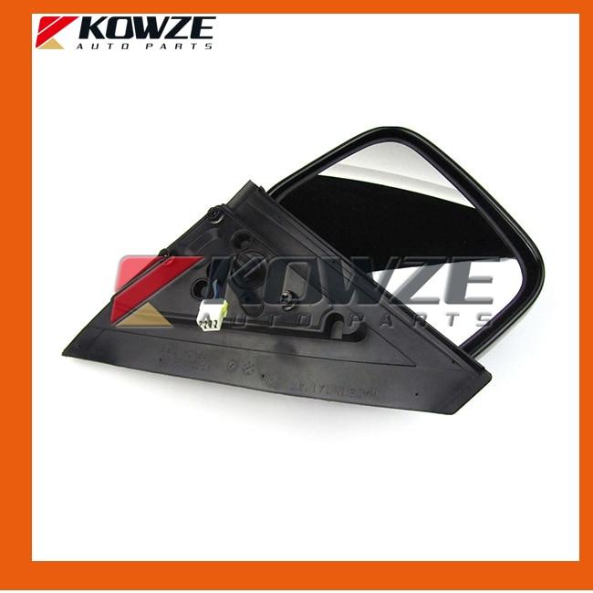 Chrome Side Door Mirror For Mitsubishi Montero Pajero V73 V75 V77 V78 MR978759 MR416479 (3)