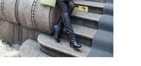 новый продвижение женщин зима меховой Ross стоит тонкий длинный участок тонкий пуховик с caption пояс пуховик мода над с