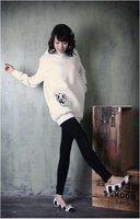c030 нью-корейски хлопок панда женский / женские джерси / топ, самая низкая цена, бесплатная доставка, специальный recommendtion