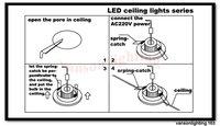 rods бесплатная доставка! 6 * 1 вт из светодиодов светильник Polo 6 * 1 вт светильник светодиодный лампа новый стиль поло светильник из светодиодов лампы