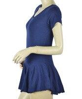 хлопок короткий и длинный рукав взрослых балет сочетает пара танец одежды с russ платье десять цветов для вас на выбор jq не-101