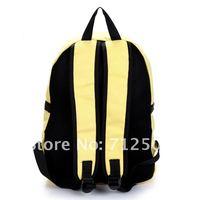 прекрасный даки дети брезент рюкзак школа мешок путешествия мешок и поддерживается