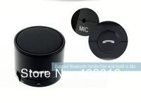 новинка дизайн мини беспроводной технологии Bluetooth Speaker и гр Aluminium корпус для айфон и айпад 3.5 mmaudio