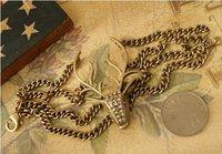 мода многослойная цепь браслет олень s5102