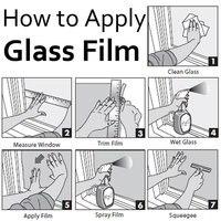 Mate стекло фильм для Cast жизни и украшения / пластиковые тепло управления размер : 1,2 х 50 м / бесплатная доставка