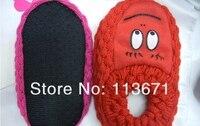 бесплатная доставка трикотажные антипробуксовочная детские носки зима, улыбка на лодке носки для детей в помещении носки 3 размер