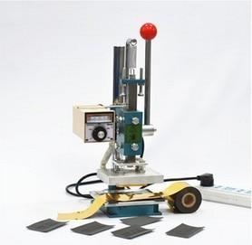 10x13 folha de Hot stamping máquina impressora