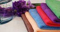 микрофибры ткань небольшой портативный 12 ' площадь полотенце / небольшой платок / полотенце