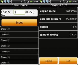 IOBD2 Diagnostic Tool display 6