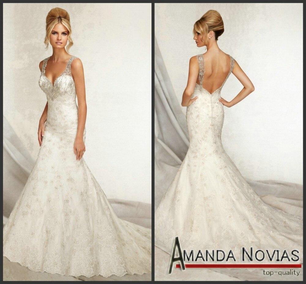 lace backless wedding dress ireland low back wedding dresses Wedding Decoration Low Back Lace Dress Aliexpress M Wonderful Crystal Mermaid