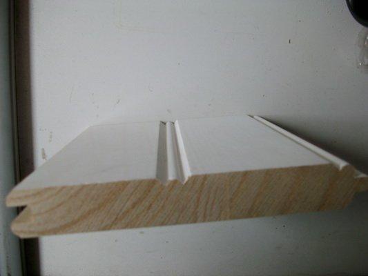Cedar FJ Primed bead wall TG, Primed wainscoting,Wall panel window ...
