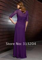 бесплатная доставка бесплатная доставка атлас шея-линии для взрослых рукавов без кнопки Bolt / кока длиной до пола платье невесты