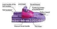 недавно 7 цветов для DIY принтер шаблон лак для ногтей печатная машина ногтей стемпинг машина 919npm