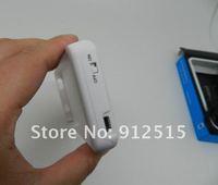 10 шт. / много бесплатная доставка 1900 мач зарядное устройство для аккумулятора банк внешний аккумулятор для айфон 4 G зарядное устройство чехол с розничная коробка