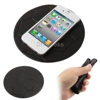 10 шт./лот черный футбол стиль прозрачные супер магия из силикона с противоскользящим площадку для телефон с GPS MP4 в mp3