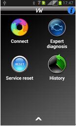 IOBD2 Diagnostic Tool display 1
