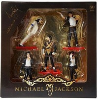 "4 "" Майкл джексон цифры куклы комплект из 5 ставят фигура"