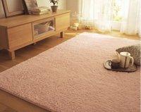 зима ковер теплый коврик моющийся спальня бесплатная доставка 10 цвет 80 * 160 см в японском стиле