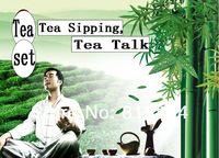 бесплатная доставка исин кунг-фу чайный сервиз 43 шт. / комплект высокое качество фарфор и посуда чайник керамический чайный сервиз и чайник