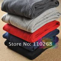 бесплатная доставка теплый осень с шаровары, спортивные брюки, свободного покроя для отдыха ватки брюки унисекс женские брюки 5 цветов 3 размеры