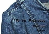 мода перекос почтовый короткие джинсовые короткая куртка с розовым украшения для дамы женщин