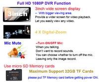 vc900 1080 р с FHD автомобильный видеорегистратор зеркало. видеорегистратор, зеркало заднего вида 3 дюймов автомобильный видеорегистратор версия г - 4-кратным цифровым - увеличить