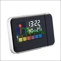 красочный жк-дисплей цифровой много - функция метеостанция проект сигнализация температуры календарь часы