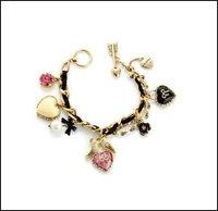 подарок-БЖ мода браслет элегантный птица с роза в форме сердца может найти более подарок-БЖ товаров в нашем магазине # ss050