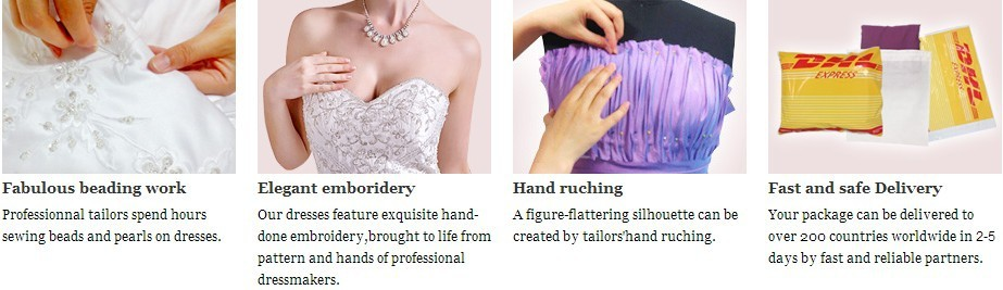 We make every special dress only for you
