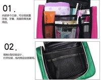 бесплатная доставка оптовая продажа новый организатор нескольких сумка доказательство путешествия косметичка чехол, упаковка мыть