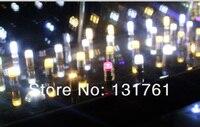новинка, кри, Г4, 12 в светодиодные лампы бусины, 1.5 вт, постоянного тока / ac12v, 10 шт./лот, холодный белый / теплый белый, прозрачный силиконовый, бесплатная доставка