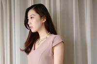 бесплатный перевозочных ювелирные изделия 443 - 2 корейских ювелирных флэш-дрель пять-листья цветок ожерелье