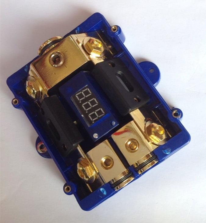 ree shipping car audio power fuse fuse holder with voltage display rh aliexpress com Auto Fuse E car radio fuse box