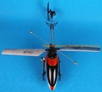 бесплатная доставка из швеции! двойной лошадь 9116 вертолет 4 канальный 2.4 г ртф Вт / гироскопа свтеодиодный фонарик жк-передатчик