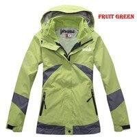 горячая распродажа новый бренд быстросохнущие открытый спортивный Alpine куртка для женщин / семь цветов / теплые непромокаемые из двух частей пальто / cl181