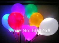 бесплатная доставка + 30 шт./лот воздушный шар + в новый из светодиодов воздушный шар + освещение воздушный шар + сияющий шар