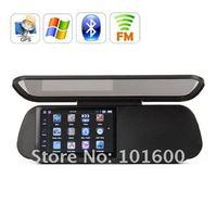 5 дюймов сенсорный экран с Bluetooth с GPS навигация + складной зеркало заднего вида gps516