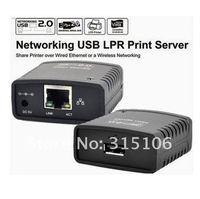 бесплатная доставка лнр порт USB 2.0 для сетевой принтер доля сетевой ж / беспроводной сети