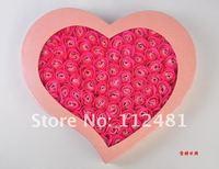 100 шт. / комплект стиральная очищение ванна роза цветок из использования тза, валентина подарок мыло цветок