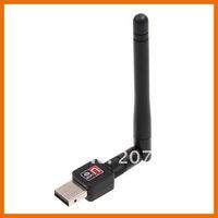 мини 150 м беспроводной адаптер беспроводной сетевой карты 802.11 п / Г / Б сетевой адаптер с антенной, бесплатная доставка